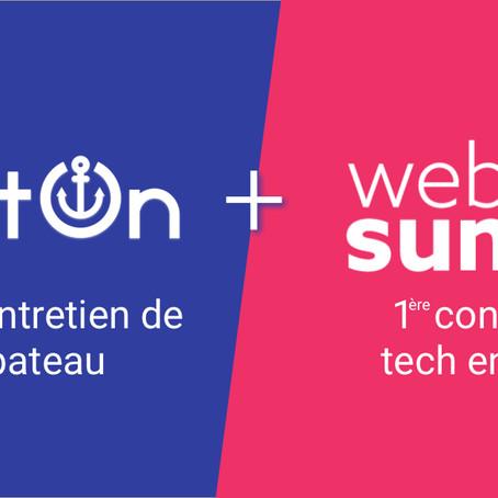 BoatOn sélectionné pour le Web Summit 2018