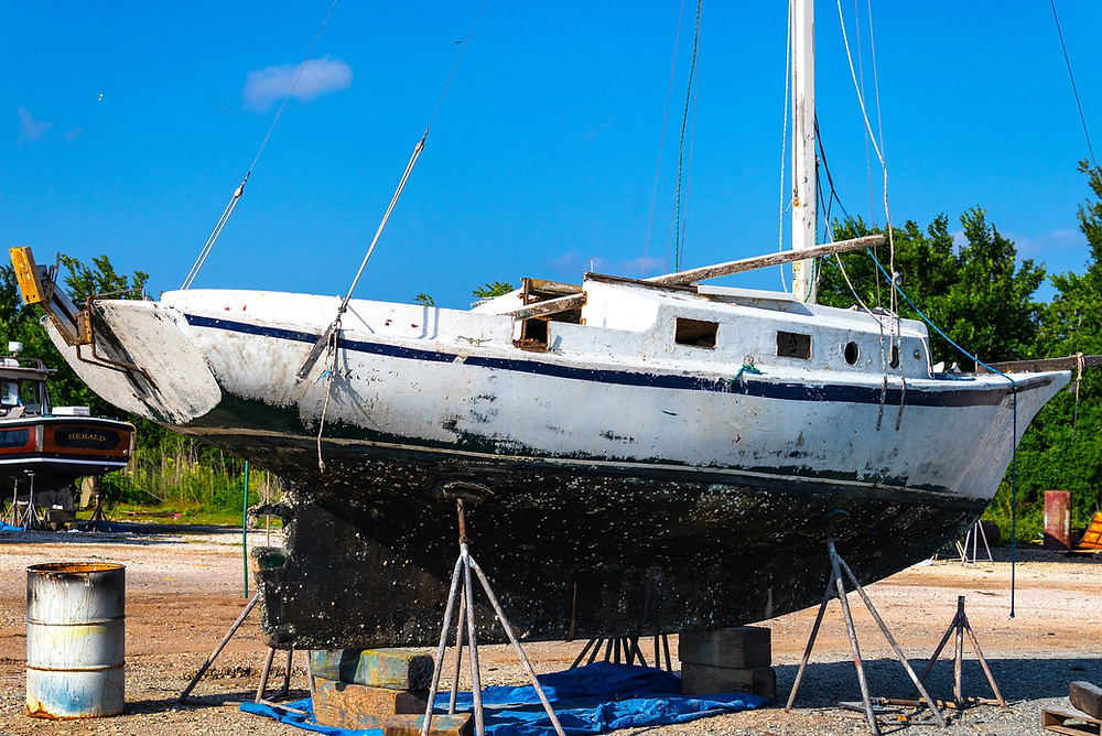 Entretien bateau antifouling  bateau