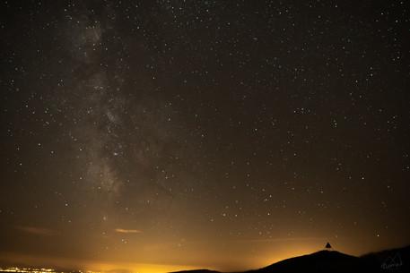 Nightsky from the Jura