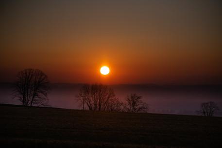 Sunrise near Rances
