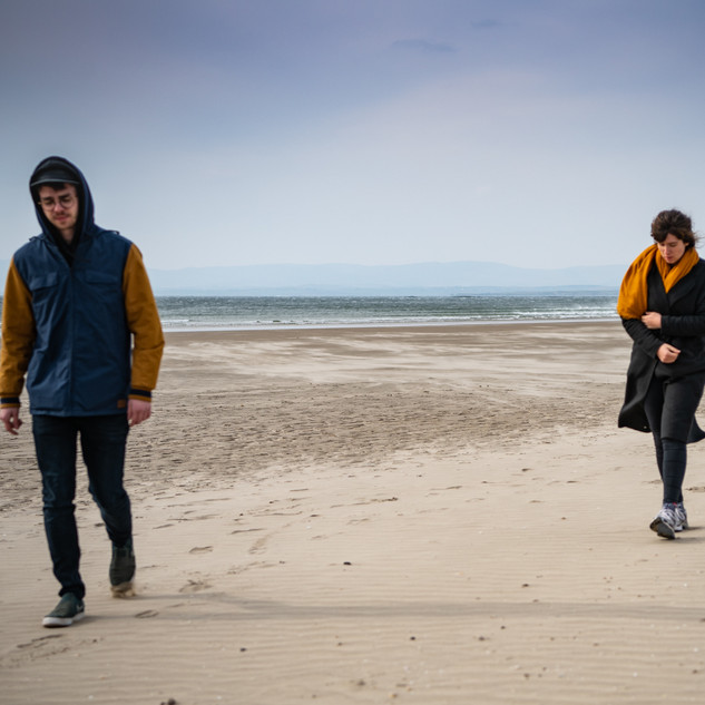 Rossnowlagh beach walk