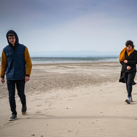 Rossnowlagh beach walk