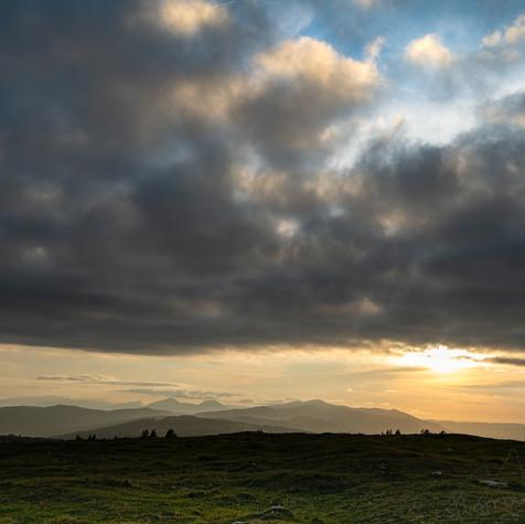 Jura sunset