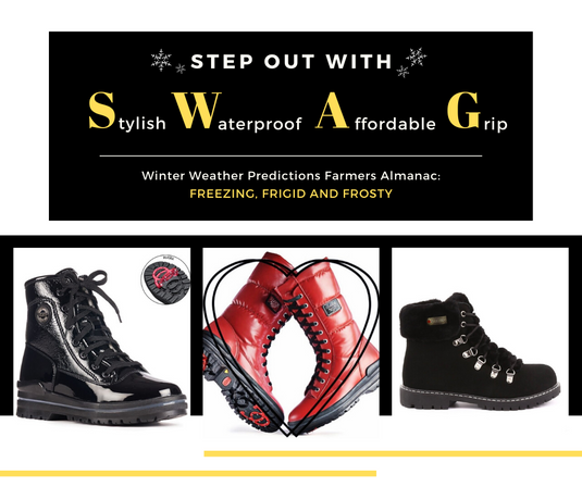 STEP OUT WITH SWAG - WINTER BOOTS