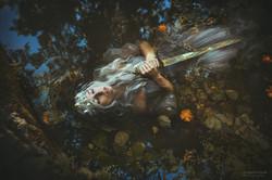 Virgin of the lake - King Artus