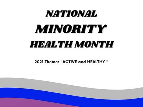 National Minority Health Month