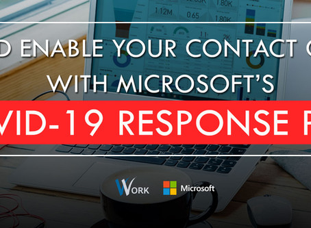 V-Work embarking on Microsoft's COVID-19 Response Plan