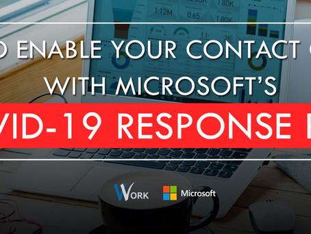 V-Work embarking on Microsoft's COVID-19 Response Plan