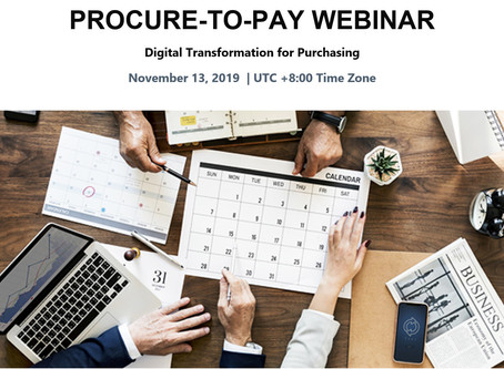 eProcurement Webinar on 13 Nov 2019