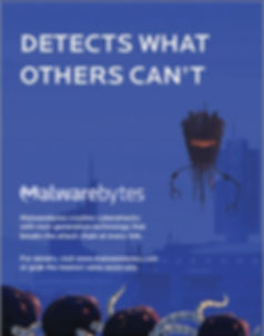 Malwarebytes - Detects what Othes Can't