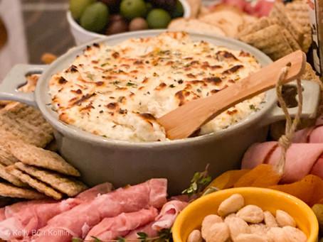 Garlic & Herb Baked Ricotta Dip