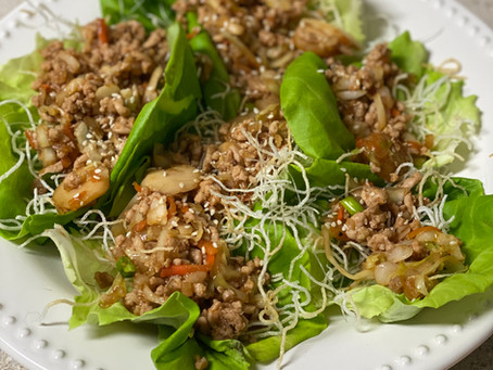 PF Chang's Style Chicken Lettuce Wraps