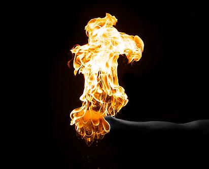 hand, fire, firehand, holding fire, experiment, fire experimnt, danger