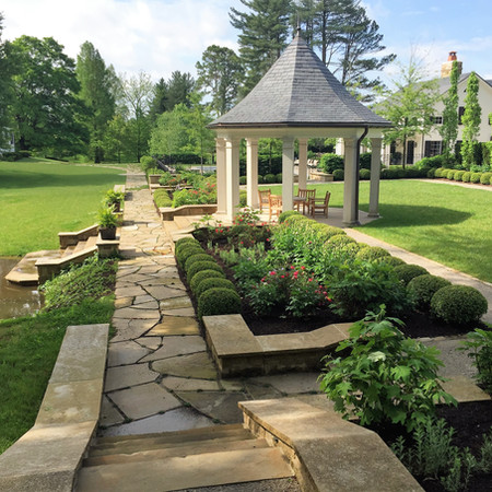 Morgan Olmsted Brothers Garden