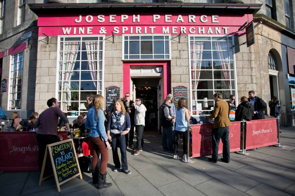 DRINKS: JOSEPH PEARCE'S