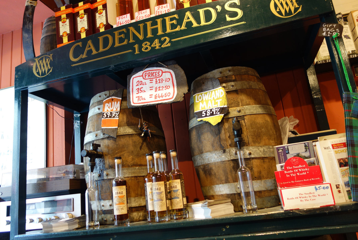 SHOP: CADENHEAD'S WHISKY