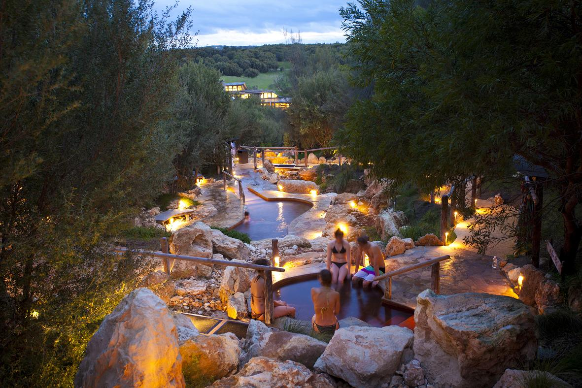 SPA: PENINSULA HOT SPRINGS