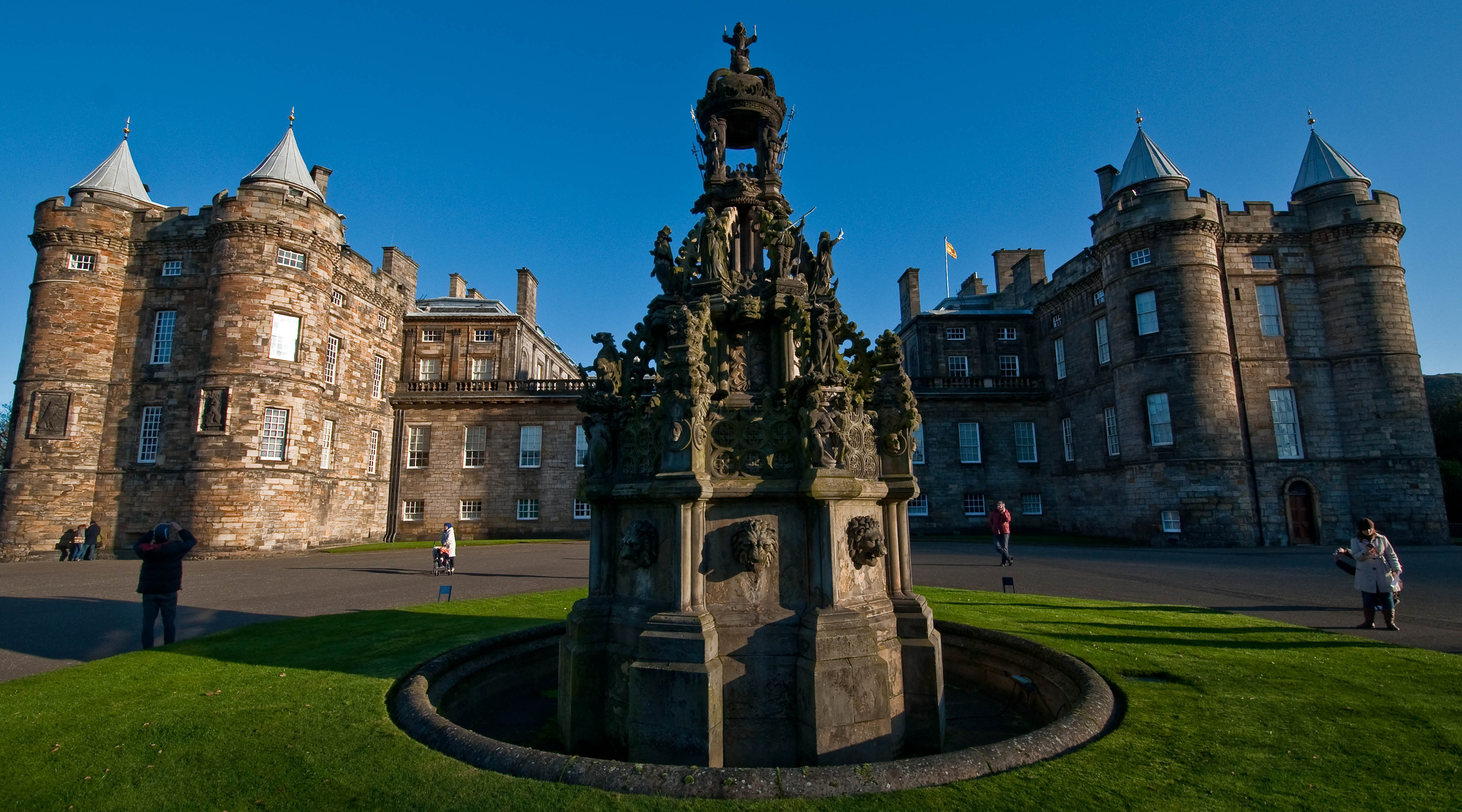 SEE: THE PALACE OF HOLYROODHOUSE