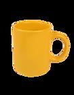イエローマグカップ