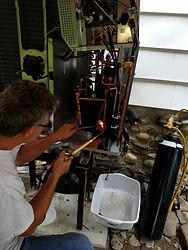Repairing an Outdor Unit