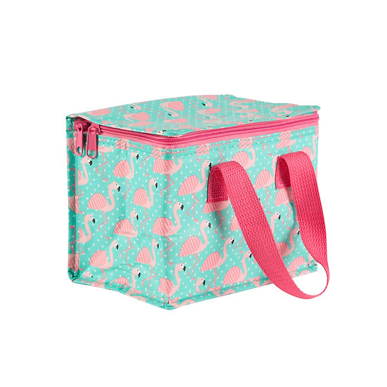 Tropical Flamingo Insulated Lunch Cool Bag