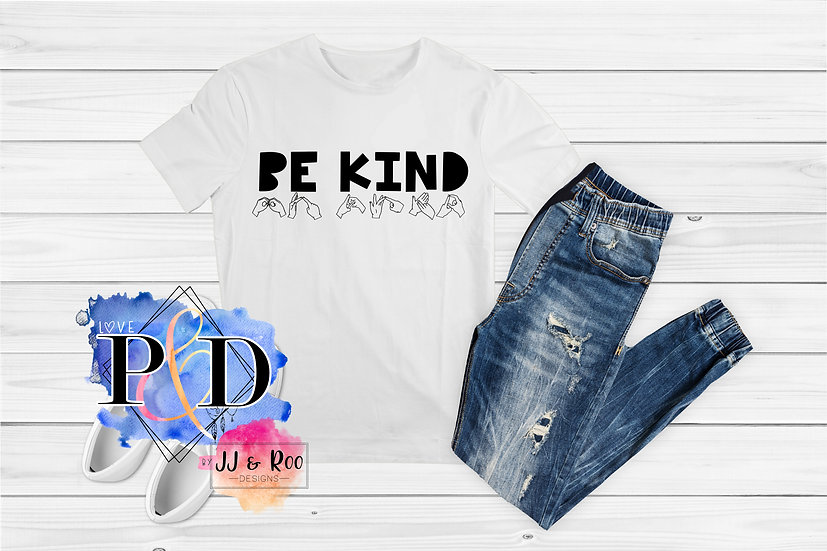 """BSL """"Be Kind"""" Unisex T-Shirt"""