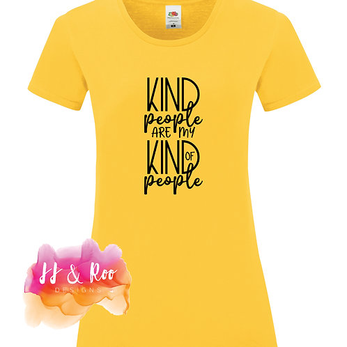 Mental Health Awareness Slogan T-Shirt: Kind People