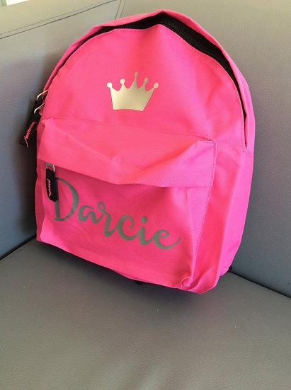 Personalised Small Toddler/Nursery Backpack