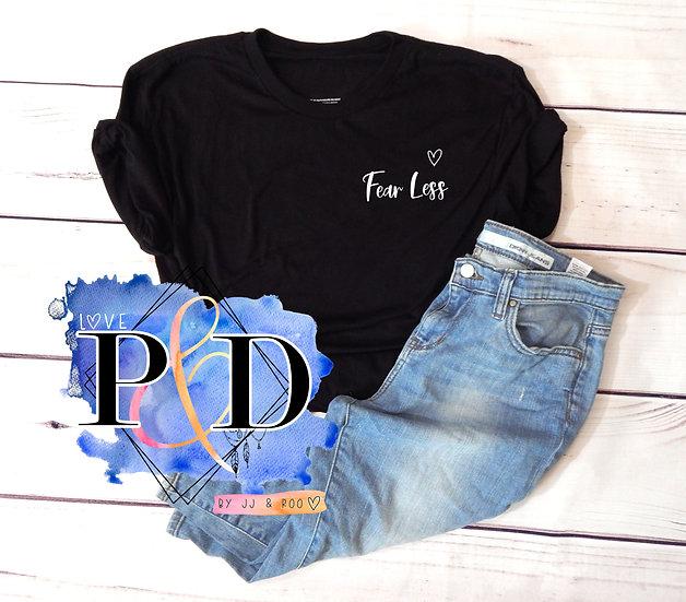 Fear Less: Mental Health Awareness Unisex T-Shirt