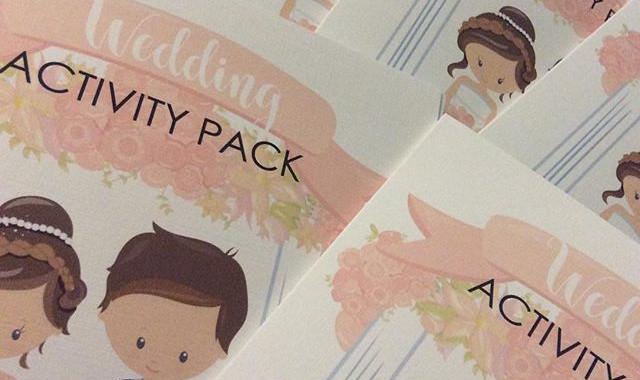 Wedding Activity Packs