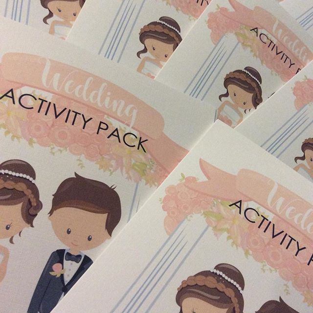 Wedding Activity Packs