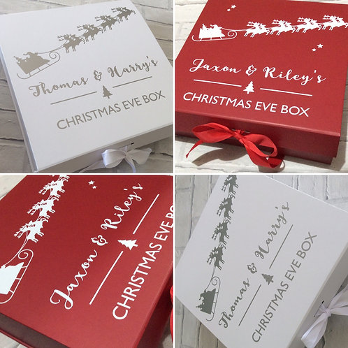 Personalised Children's/Family Christmas Eve Box