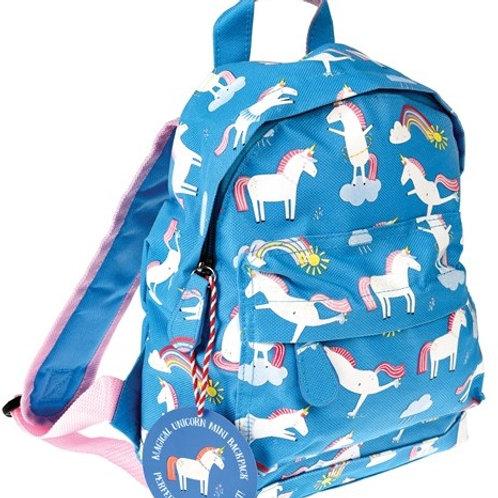 Unicorns & Rainbows Childs Mini Backpack