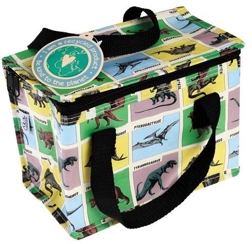 Prehistoric Dinosaurs Insulated Lunch Cool Bag