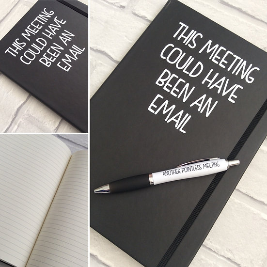Office Notebook/Journal: This Meeting Could Have Been an Email