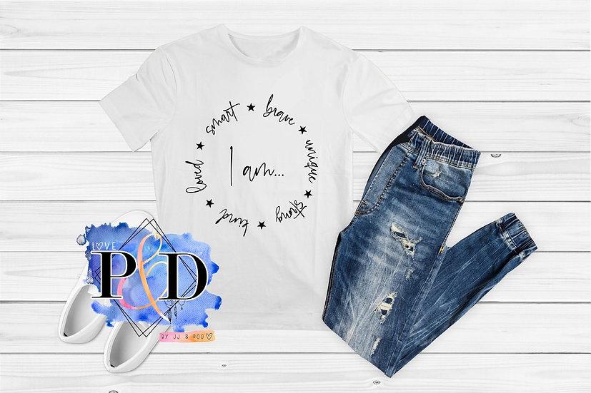 """""""I Am..."""" Children's Mental Health Awareness T-Shirt"""
