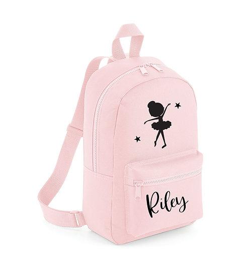 Childs Ballet Dancer Backpack, Rucksack