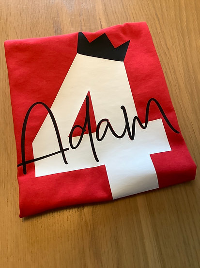 Child's Personalised Birthday T-Shirt, Top (Any Name & Age)