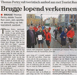 Brugge al lopend verkennen