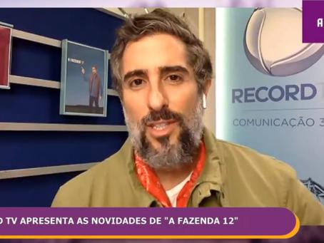 Por causa do coronavírus, Marcos Mion não terá contato com os peões em A Fazenda 12
