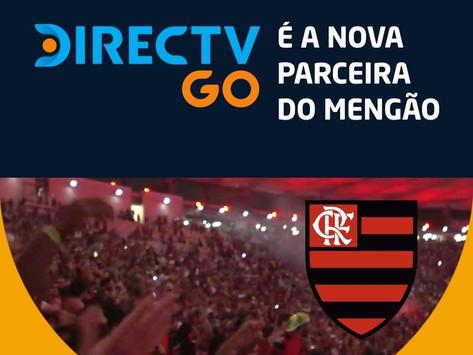 DIRECTV GO é a nova patrocinadora oficial do Flamengo; entenda