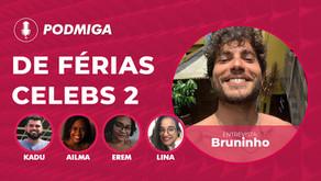 De Férias com o Ex Celebs 2: Bruninho conta como se tornou ex de Maju Mazzali e Gabi Rippi