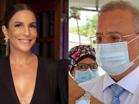 Após crítica de Fábio Vilas-Boas, Ivete Sangalo pede respeito: 'não gosto de politicagem'