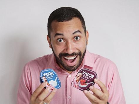 Após pedidos, Gil do Vigor se torna cocriador de linha de iogurte