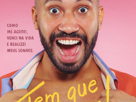 Capa do livro de Gil do Vigor é revelada; obra terá depoimento de Xuxa Meneghel