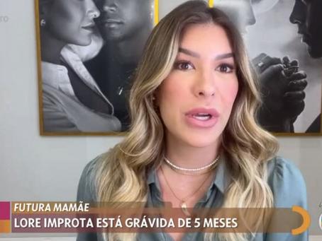 Lore Improta diz que recusou convite para participar do BBB por medo