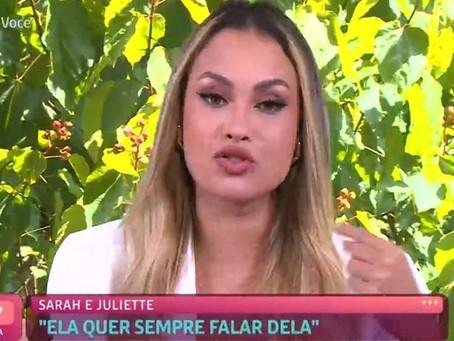 BBB21: No Mais Você, Sarah Andrade pede desculpas por declarações sobre Covid-19