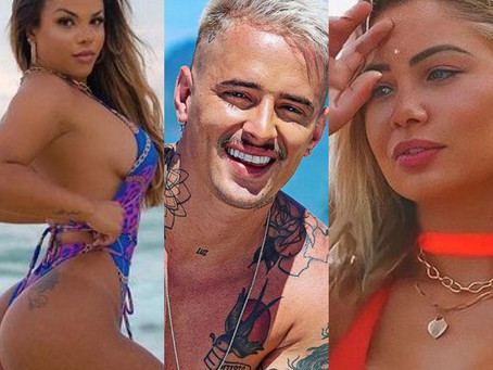 """Gabily afirma que não sabia do namoro de Caíque Gama com Flávia Gabê: """"me dava ideia desde 2018"""""""