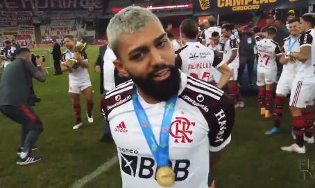 "Gabigol provoca Fluminense após título do Fla: ""jogaram como nunca e perderam como sempre""; vídeo"