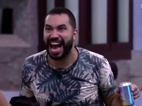 """No BBB21, Gilberto Nogueira critica governo: """"Brasil tá lascado"""": VÍDEO"""